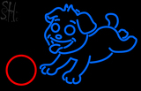 Custom Dog Play With Ball Neon Sign 2