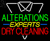 Custom Dry Cleaning Experts Neon Sign 2