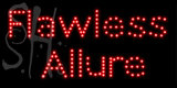 Custom Flawless Allure Led Sign 15