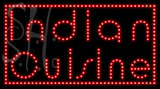 Custom Indian Cuisine Led Sign 1