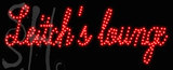 Custom Leitchs Lounge Led Sign 1
