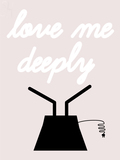 Custom Love Me Deeply Sculpture Neon Sign 1