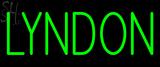 Custom Lyndon Neon Sign 2
