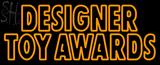 Custom Matt Artwork Designer Toy Awards Outdoor Neon Sign 2