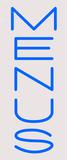 Custom Menus Neon Sign 1
