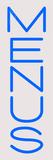 Custom Menus Neon Sign 2