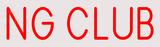 Custom Ng Club Neon Sign 4