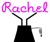 Custom Rachel Sculptures Sign 2