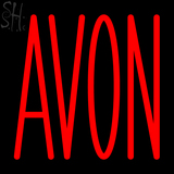 Custom Red Avon Neon Sign 1