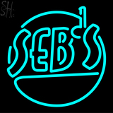 Custom Sebs Logo Neon Flex Sign