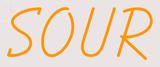 Custom Sour Neon Sign 3