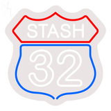 Custom Stash 32 Neon Sign 1