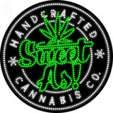 Custom Sweet As Handcrafted Cannabis Co Led Sign 6
