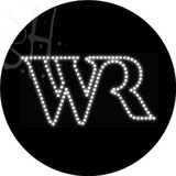 Custom Wr Logo Led Sign 2