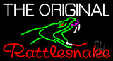 The Original Rattlesnake Neon Sign
