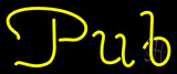 Cursive Pub Neon Sign