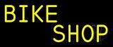Yellow Bike Shop Neon Sign