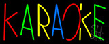 Multi Colored Karaoke Neon Sign