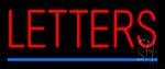 Custom Letter LED Neon Sign