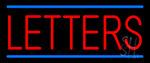 Custom Letter Neon Sign
