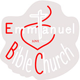 Emmanuel Bible Church Contoured Clear Backing Neon Sign