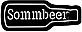 Sommbeer Contoured Black Backing Neon Sign
