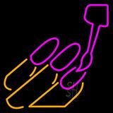 Nail Emoji Neon Sign