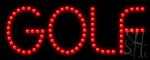 Golf Led Sign