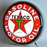 Texaco Motor Oil 15 Inch Backlit Led Lighted Sign