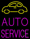 Car Logo Auto Service Neon Sign