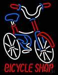 Bicycle Shop Logo Neon Sign