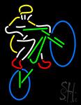Mountain Biker Neon Sign