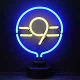 9 Ball Neon Sculpture