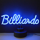 Billiards Neon Sculpture