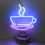 Coffee Cup Neon Sculpture
