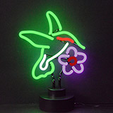 Hummingbird Neon Sculpture