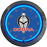 Ford Cobra 15 Inch Neon Clock