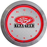 Ford Tractor 15 Inch Neon Clock