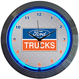 Ford Trucks 15 Inch Neon Clock