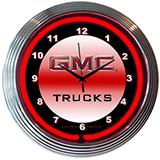 Gmc Truck 15 Inch Neon Clock