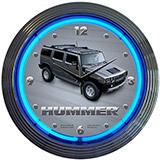 Hummer 15 Inch Neon Clock