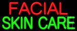Facial Skin Care Neon Sign