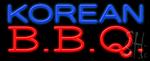 Korean Bbq Neon Sign