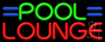 Pool Lounge Neon Sign