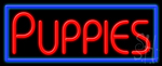 Puppies Neon Sign
