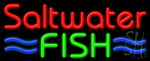 Saltwater Fish Neon Sign
