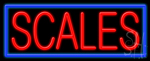 Scales Neon Sign