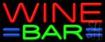 Wine Bar Neon Sign