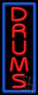 Drums Neon Sign