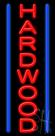 Hardwood Neon Sign